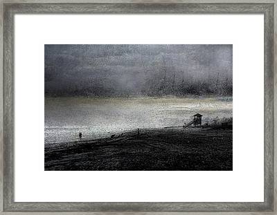 Dark Sunrise Framed Print