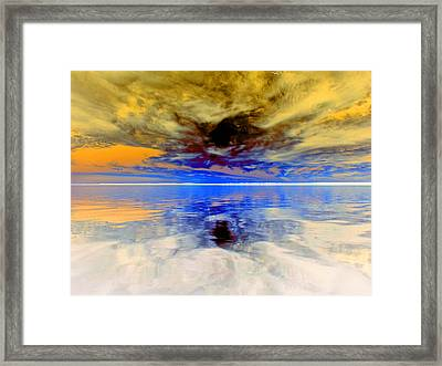 Dark Sunset Framed Print by James Granberry