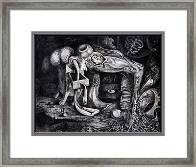 Dark Surprise Framed Print by Otto Rapp