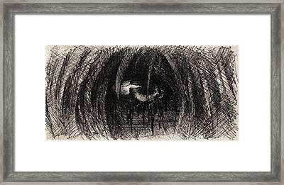 Dark Tears Framed Print