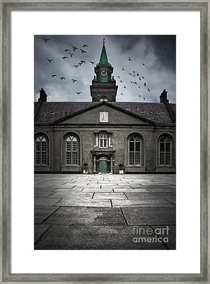 Dark Time Framed Print by Svetlana Sewell