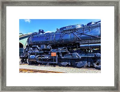 Dark Train Framed Print by Garry Gay