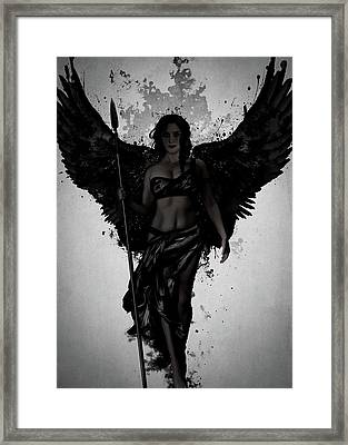 Dark Valkyrja Framed Print