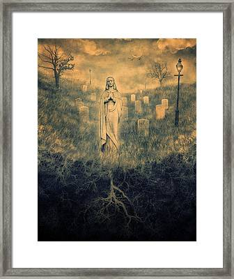 Dark Valley Framed Print