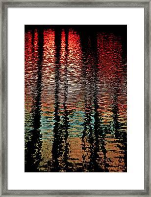 Dark Waters Framed Print by Gillis Cone