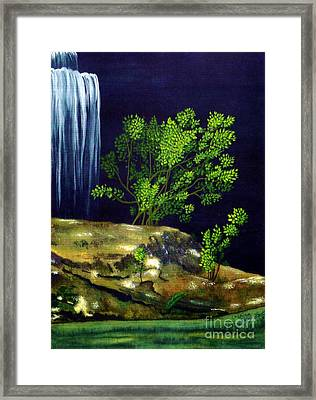Framed Print featuring the painting Dark Waters by Patricia Griffin Brett