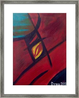 Darkness And Light 2015 Framed Print by Drea Jensen