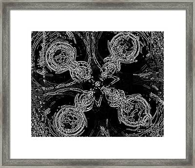 Darkness Framed Print by Patrick Guidato