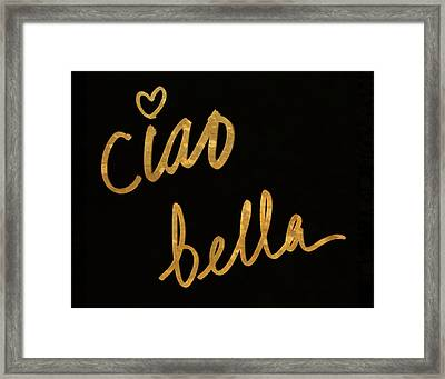 Darling Bella II Framed Print by South Social Studio