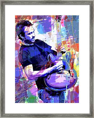 Darren Glover - Blues Note Framed Print