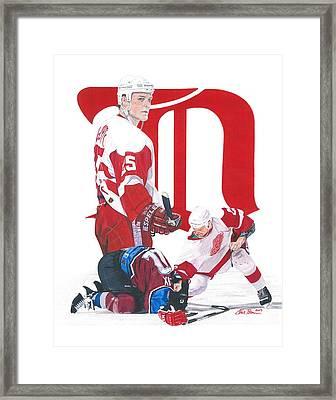 Darren Mccarty Framed Print