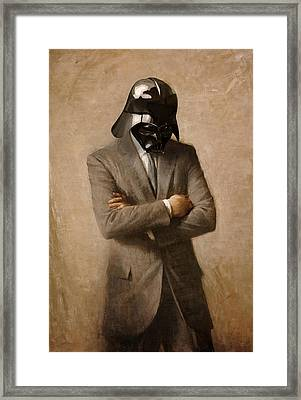 Darth Kennedy Framed Print by Mitch Boyce