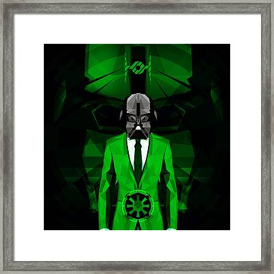 Darth Vader 6 Framed Print by Gallini Design