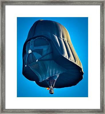 Darth Vader Framed Print by Brian Stevens