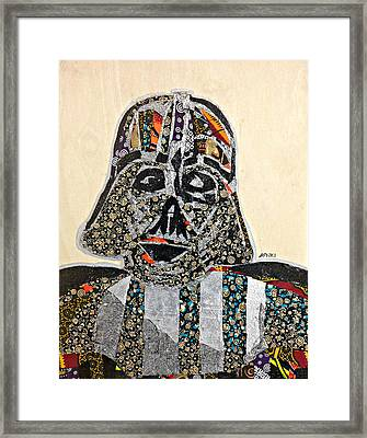 Darth Vader Star Wars Afrofuturist Collection Framed Print