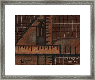 Darthometry Framed Print by Tommervik