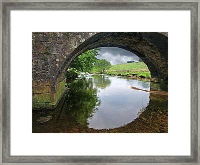 Dartmoor Through The Bridge Framed Print