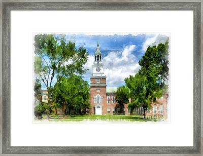 Dartmouth Collage Framed Print by Edward Fielding