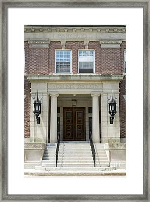 Dartmouth College Administration Building Framed Print by Edward Fielding
