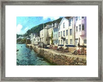 Bayards Cove Dartmouth Devon  Framed Print