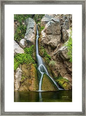 Darwin Falls Death Valley Framed Print