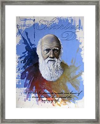 Darwin Framed Print by Ole Hedeager Mejlvang