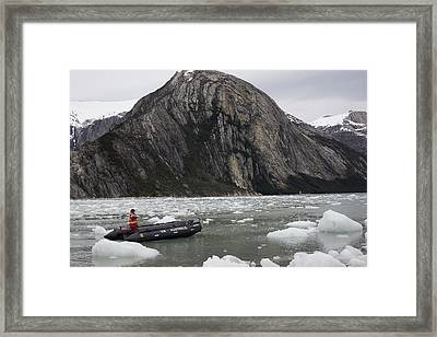 Darwin's Passage In Chile Framed Print