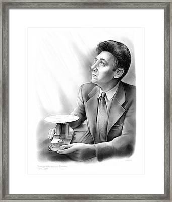 Daryl M. Chapin Framed Print by Greg Joens