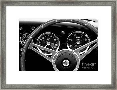 Framed Print featuring the photograph Dashboard by Stephen Mitchell