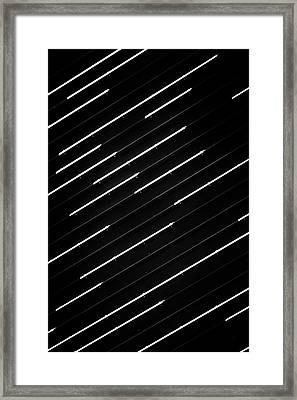 Dashed No. 1-1 Framed Print