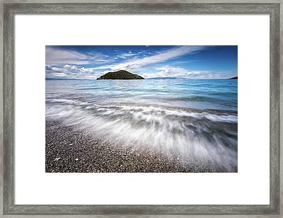 Dasia Island Framed Print by Evgeni Dinev
