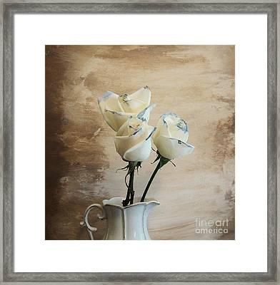 Dating Roses Framed Print