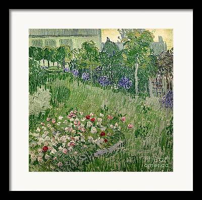 Auvers Sur Oise Framed Prints