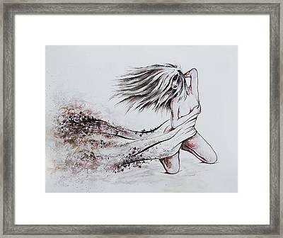 Daughter Of Eve Framed Print by Rachel Christine Nowicki