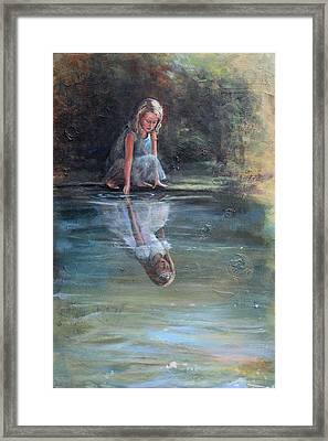 Daughter Of The King Framed Print