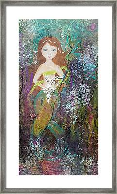 Daughter Of The Sea Framed Print