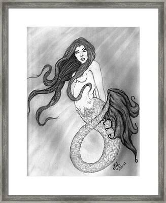 Daughter Of Yemaya Framed Print