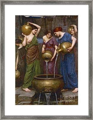 Daughters Of Danaus 1903 Framed Print by Padre Art