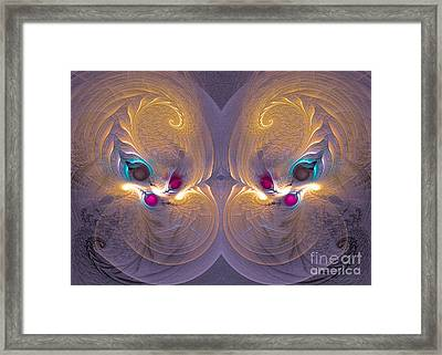 Daughters Of The Sun - Surrealism Framed Print