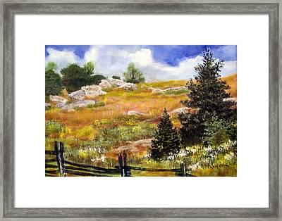 Daughton Park Sold Framed Print