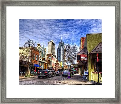 Dauphin Street Framed Print