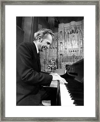 Dave Brubeck, 1960s Framed Print