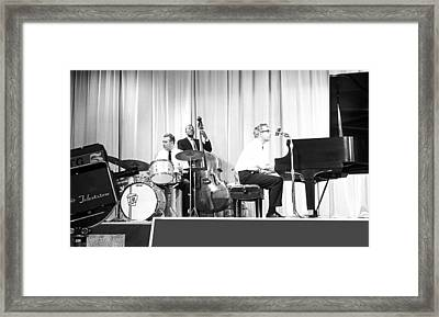 Dave Brubeck Quartet 1967 Framed Print by Jan W Faul