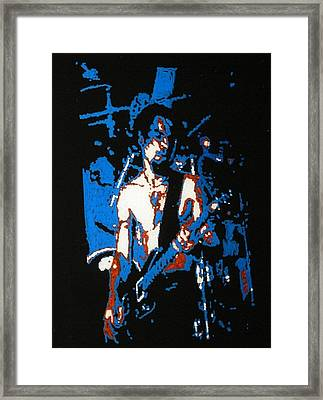 Dave Navarro Framed Print by Grant Van Driest