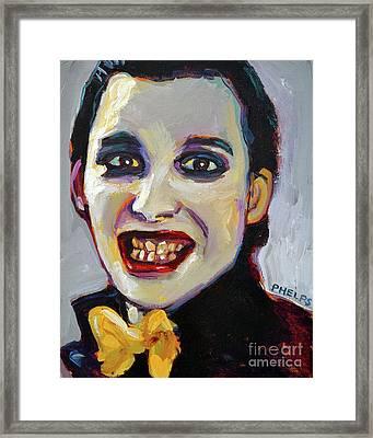 Dave Vanian Of The Damned Framed Print