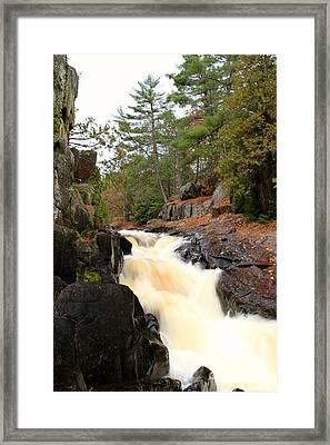 Dave's Falls #7277 Framed Print