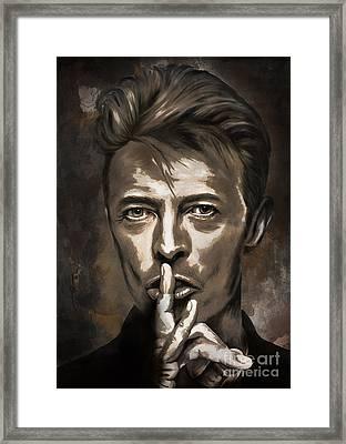 David Framed Print by Andrzej Szczerski