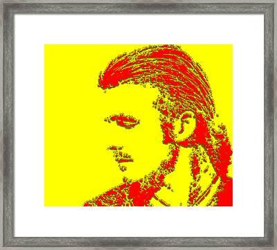 David Beckham 4a Framed Print by Brian Reaves