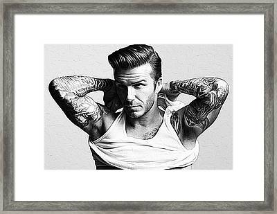 David Beckham Framed Print