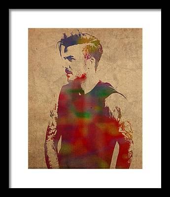 David Beckham Framed Prints